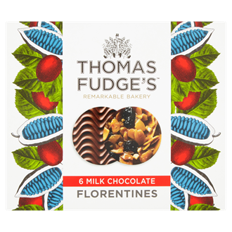 Thomas Fudges MIlk Chocolate Florentines