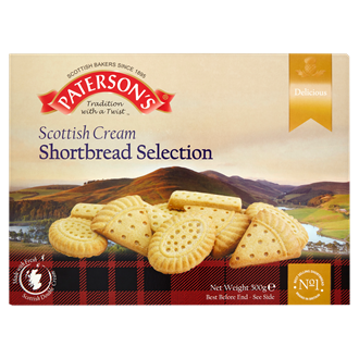 Paterson's Scottish Cream Shortbread Selection alt tag
