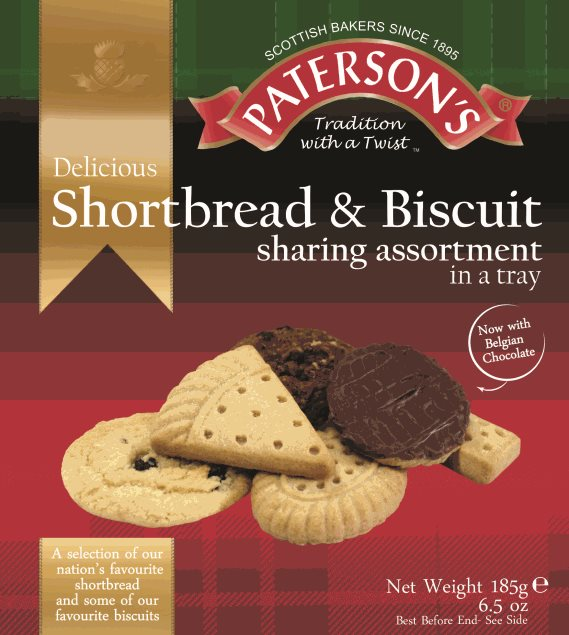 Paterson's Shortbread & Biscuit Assortment alt tag