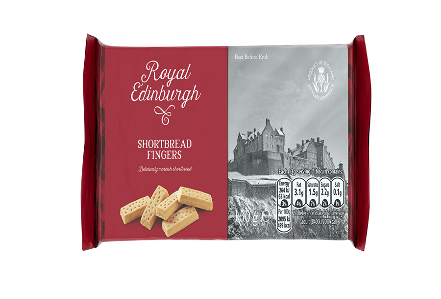 Royal Edinburgh Shortbread Fingers