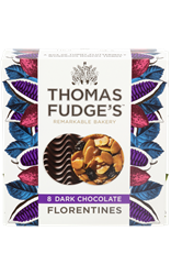 Thomas Fudges Dark Chocolate Florentines