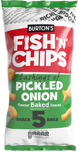 Fish 'n' Chips Pickled Onion