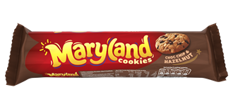 Maryland Choc Chip and Hazelnut Cookies