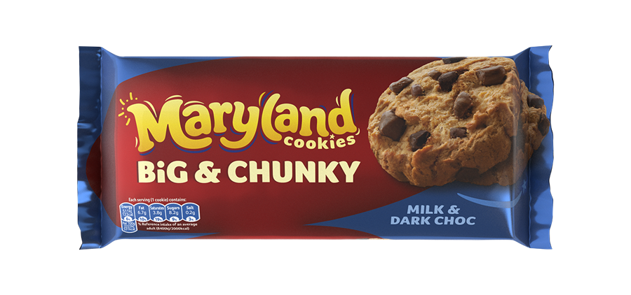 Maryland Big and Chunky Milk & Dark Choc