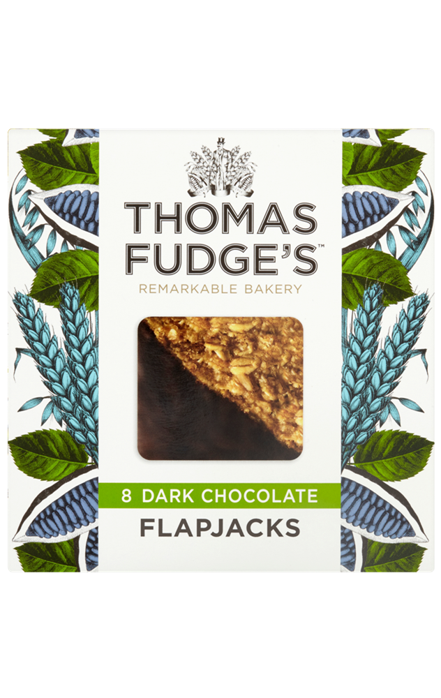 Dark Chocolate Flapjack